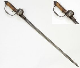 Combination German Hunting Dagger Shortsword, 19th Cen.
