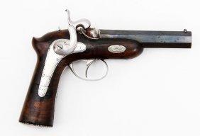 Chamelot Delvigne Percussion Pistol Ca. 1860's