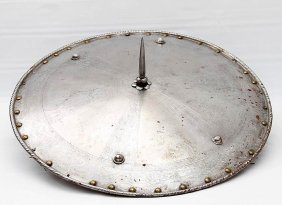 Large Medieval Style Knight's Spiked Shield