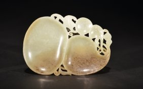 A White And Russet Jade Washer