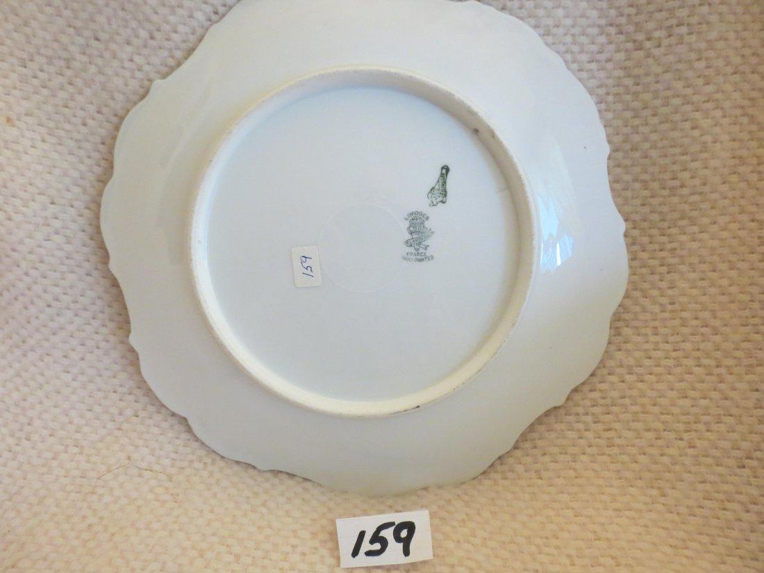 "2 pcs. Fish plates signed ROCH 11"" W Made by: Flambeau - 5"