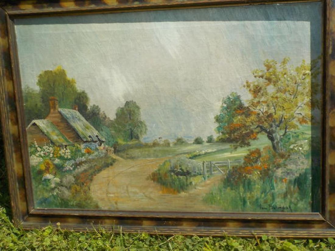 "Anna Bullerdick o.o.c. 12""x18"" Countryside Scene"