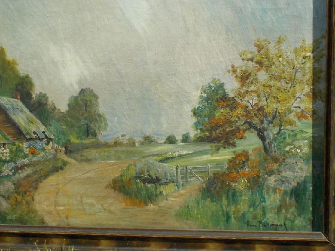 "Anna Bullerdick o.o.c. 12""x18"" Countryside Scene - 2"