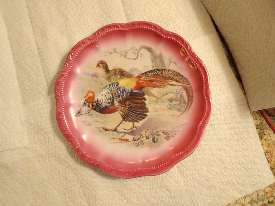 2 Limoges Turkey Plates - 2