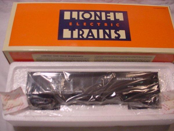 314: Lionel 51501 B&O Hopper Car.MIB.