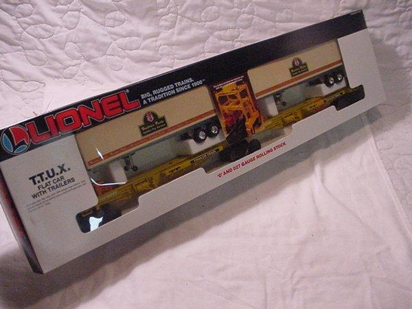 318: Lionel 19345 Southern Pacific T.T.U.X. MIB.