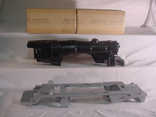 601: MTH 400E Frame-A.F.4141 Shell-2 McCoy M-600 Motors