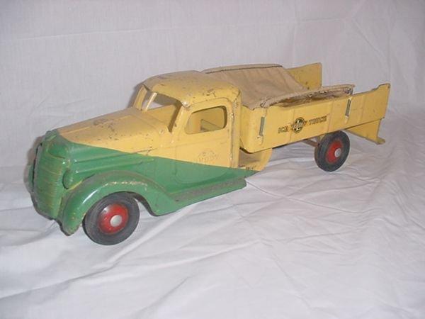 "700: Buddy L Ice Truck 23 1/2"" long."