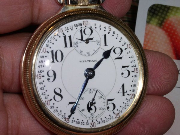 "1002: 23J Waltham ""VanGaar"" model 1906 , size 16, up &"