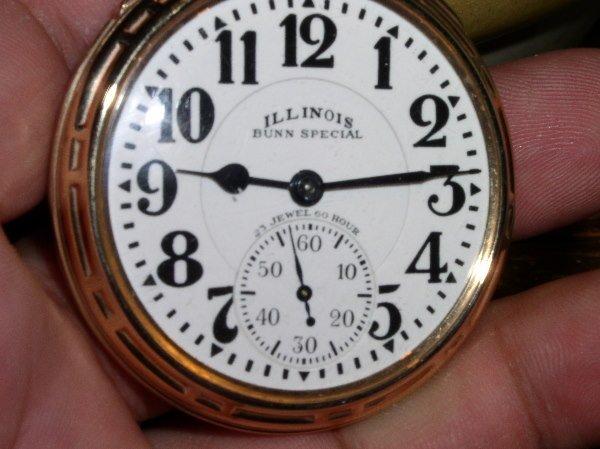 1007: 23J Illinois Bunn Special Elinvar 60 HR. 163A, Si