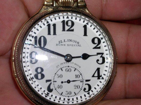 1008: 23J Illinois Bunn Special, 60 Hr., Type 1, Size 1