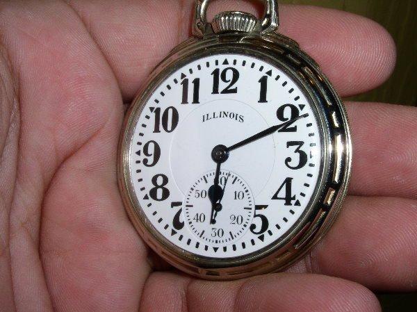 """1014: 21J Illinois Bunn Special """"Elinvar"""" #161A, 60 hr."""