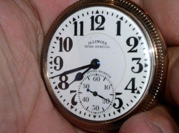 1018: 23J Illinois Bunn Special, 60 Hr., #5067505, Size