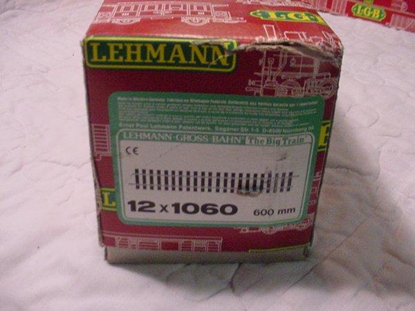 11: L.G.B. 1 Box G Scale 1060 Track MIB.