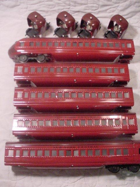214: Linoel 794-793-793-793-792-5 Car Set-Restored.