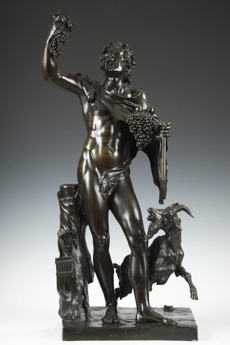 Bacchus and Goat, by H. Dasson