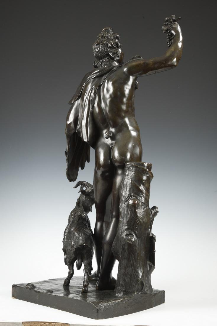 Bacchus and Goat, by H. Dasson - 2