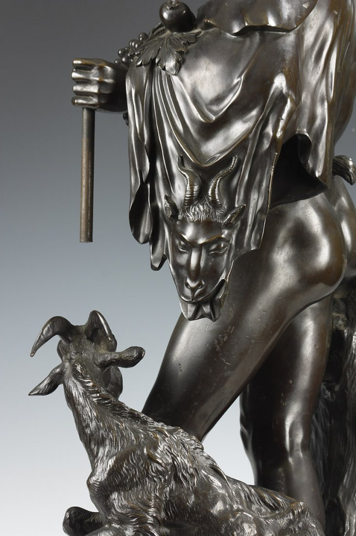 Bacchus and Goat, by H. Dasson - 5