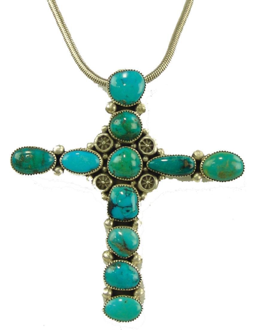 Navajo Cross Necklace - Ed Begay