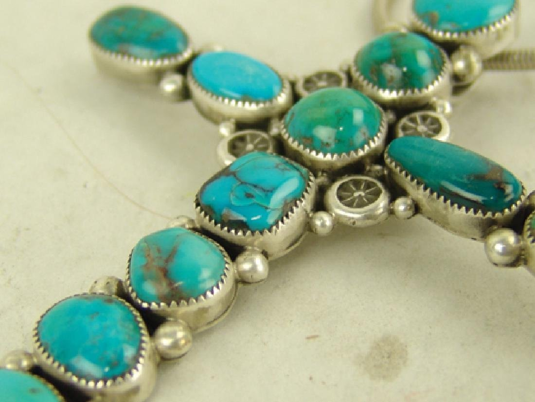 Navajo Cross Necklace - Ed Begay - 4