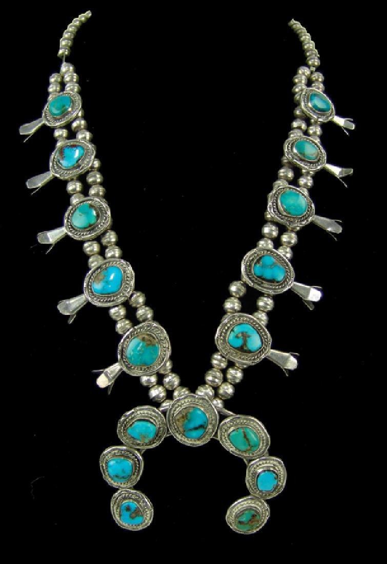 Navajo Necklace & Bracelet Set - 2