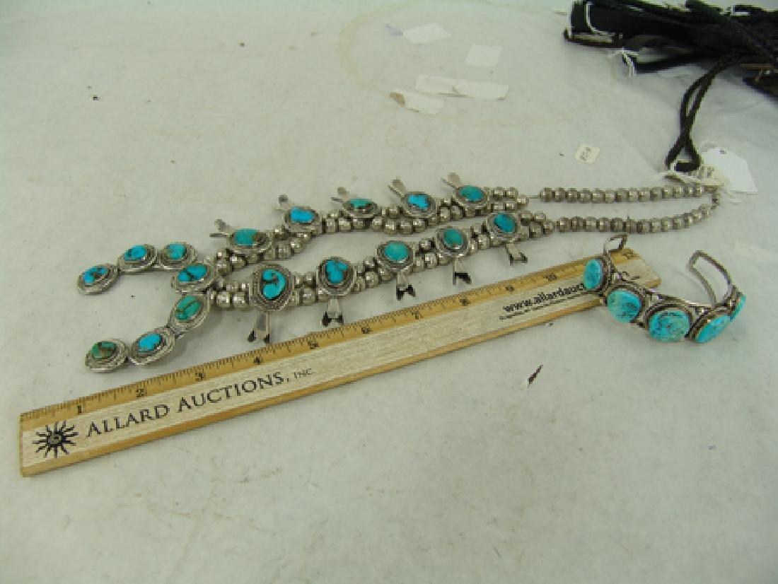 Navajo Necklace & Bracelet Set - 5