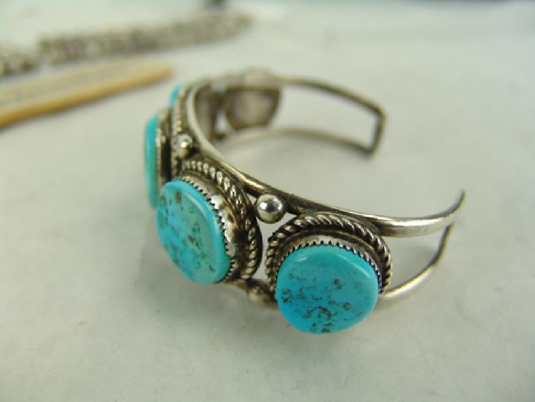 Navajo Necklace & Bracelet Set - 6