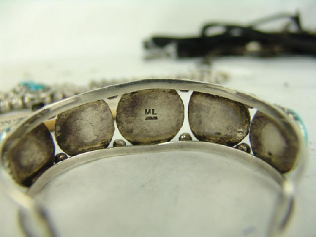 Navajo Necklace & Bracelet Set - 7