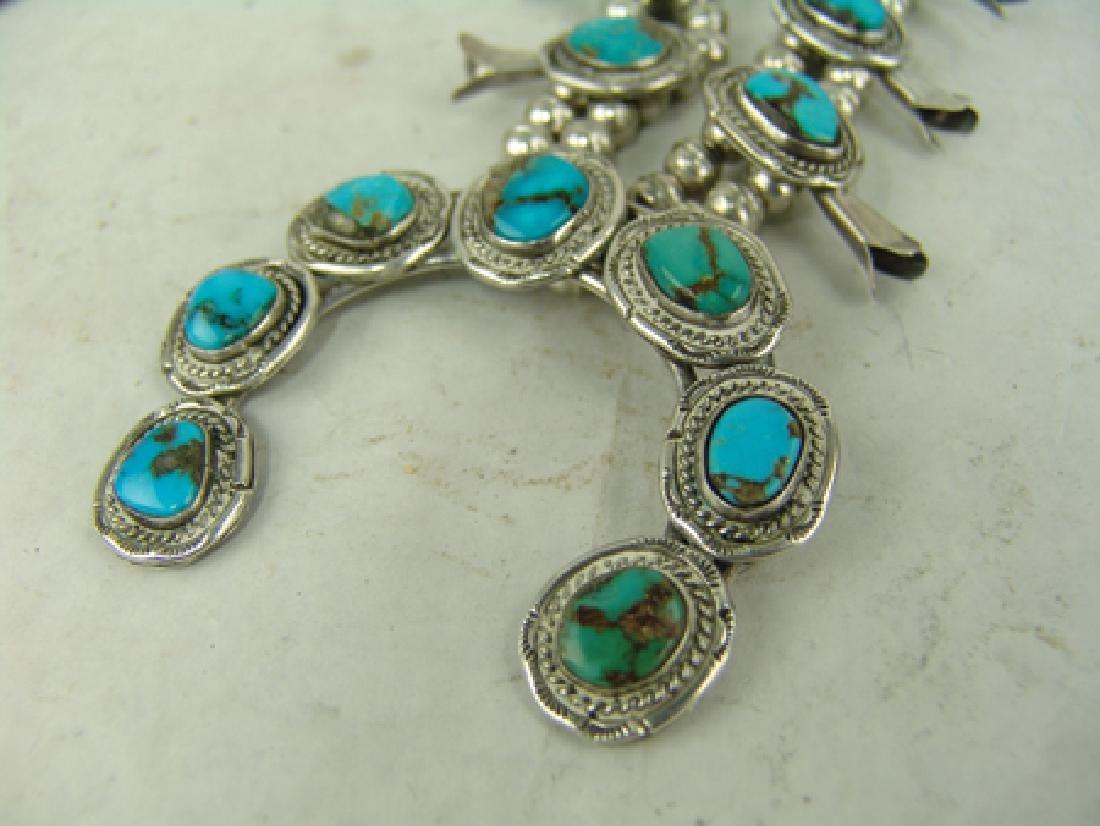 Navajo Necklace & Bracelet Set - 8
