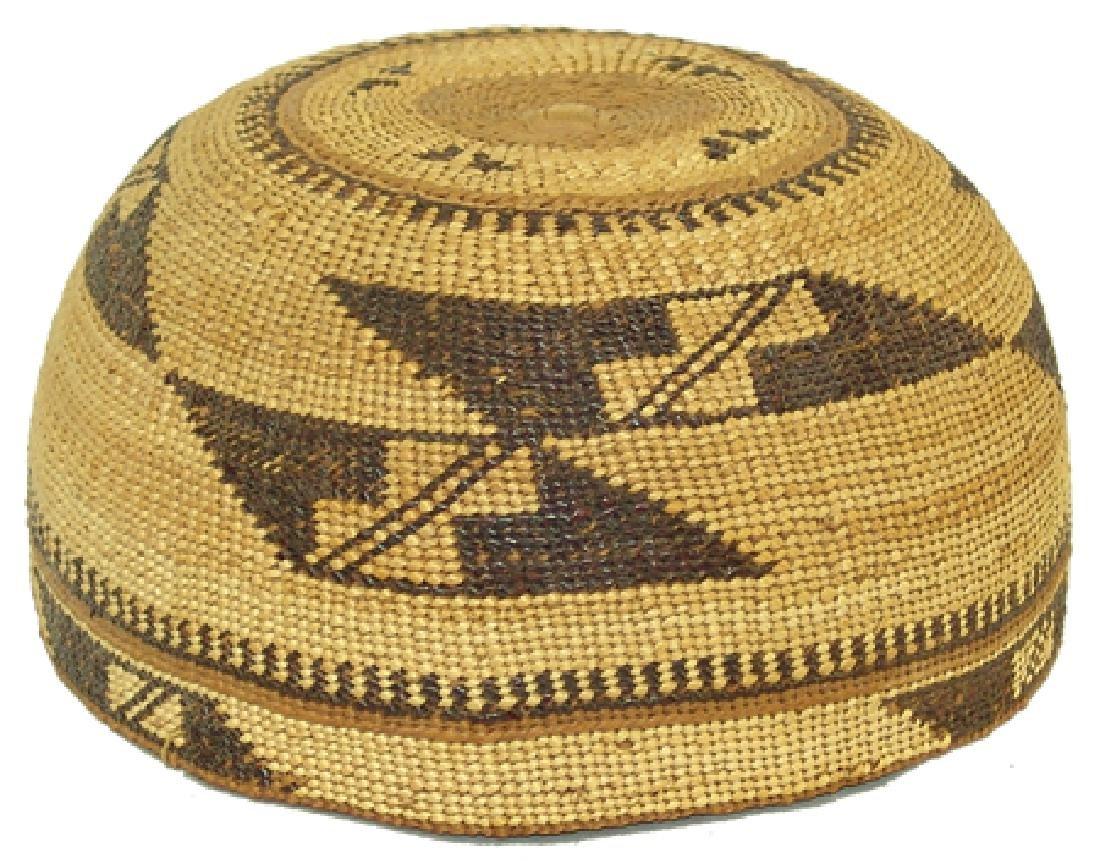 Yurok Basketry Hat