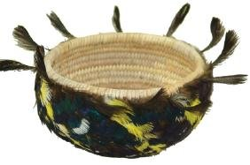 Pomo Feather Basket