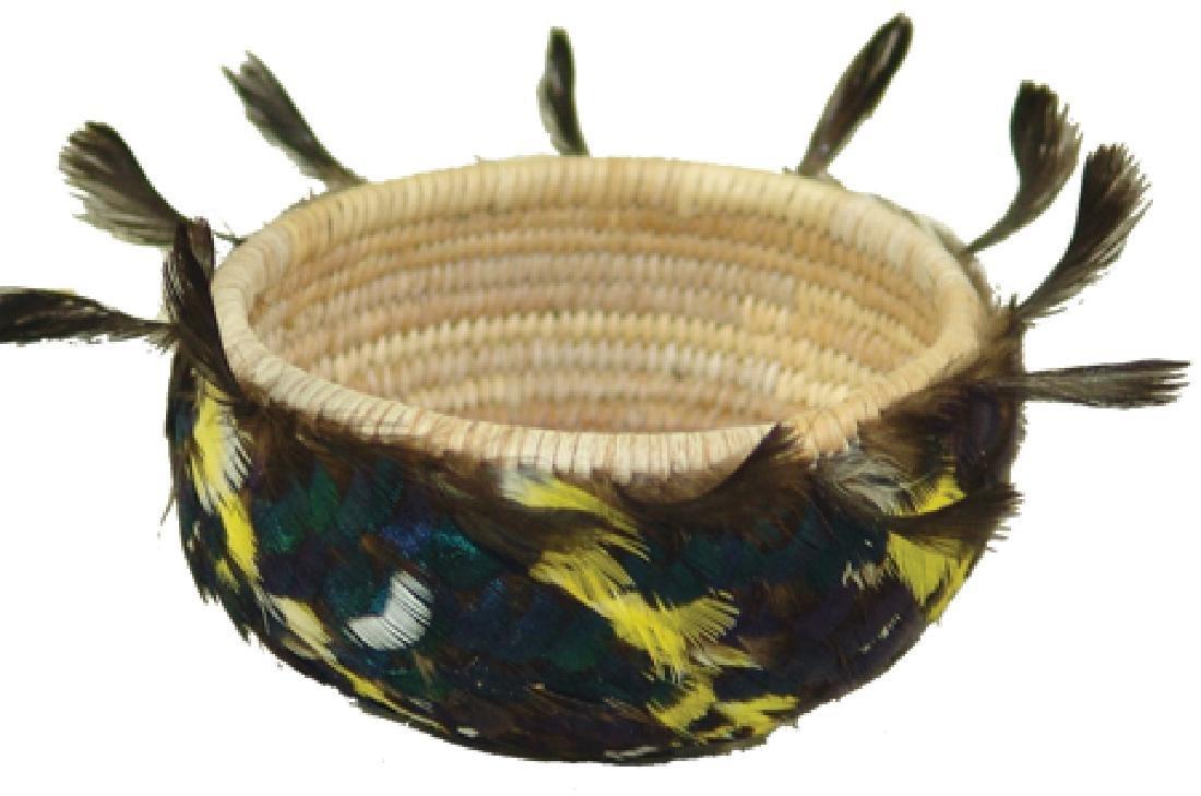 Pomo Feather Basket