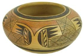 Hopi Pottery Bowl - Fannie Nampeyo