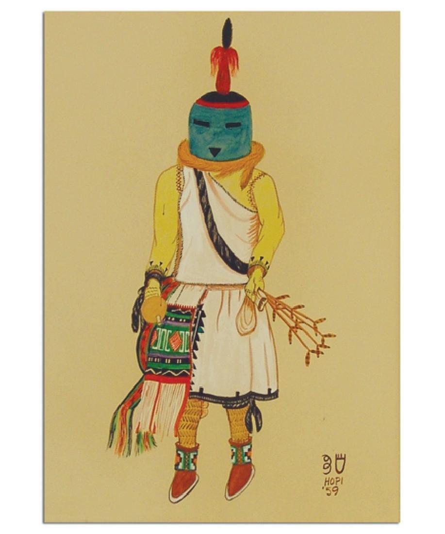 Whte Bear (Oswald Fredericks), Hopi (1906-1996)