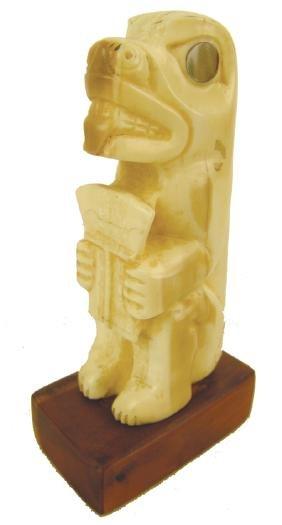 NW Coast Ivory Carving