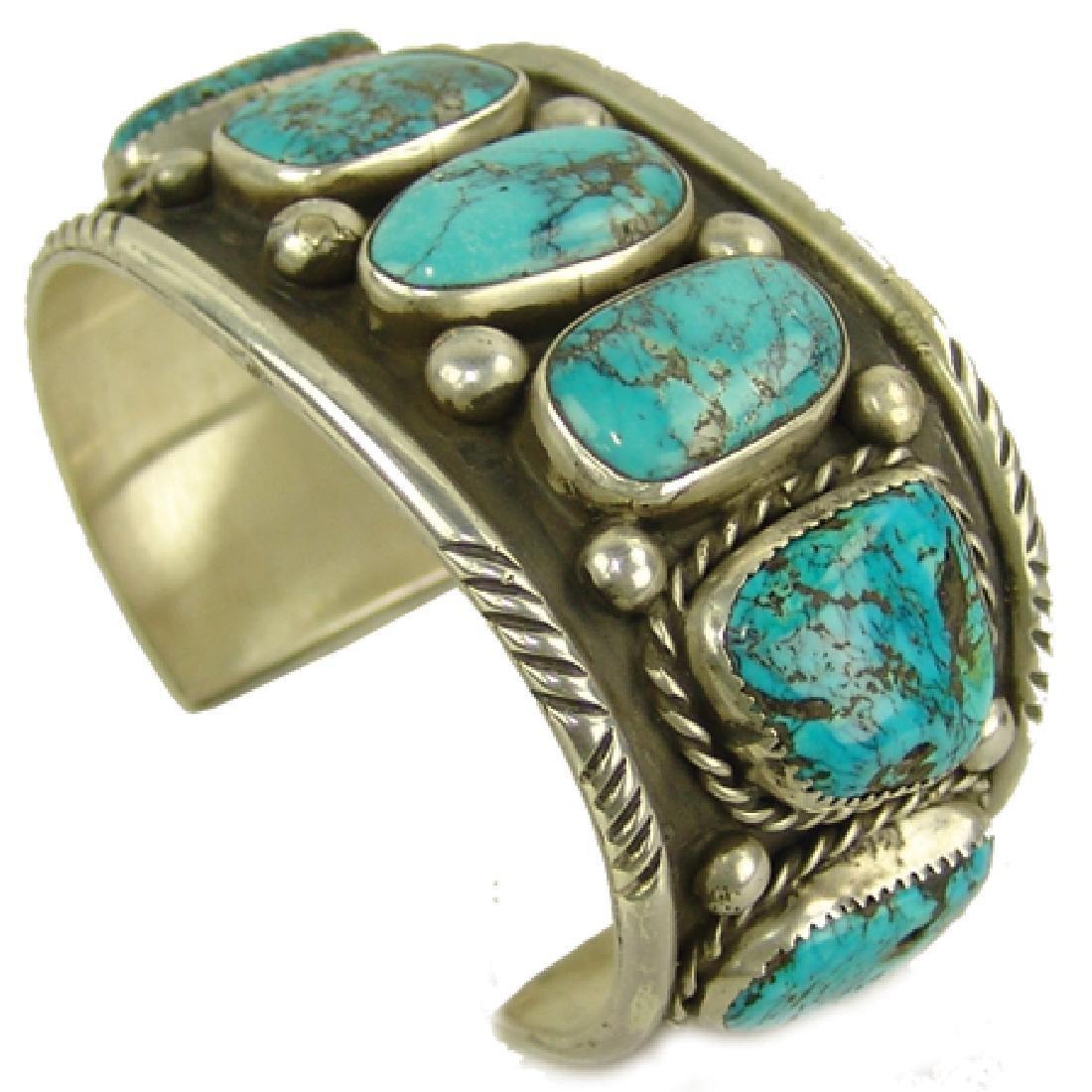 """Navajo Bracelet - """"CR"""""""