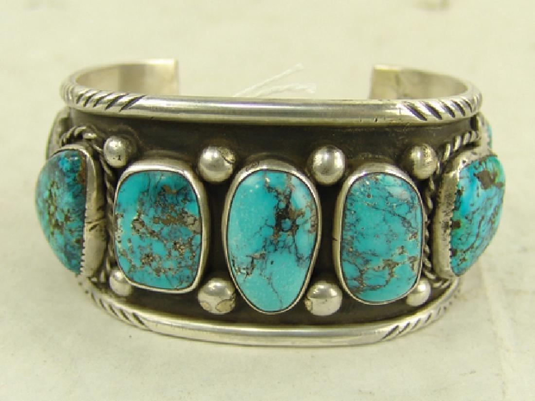 """Navajo Bracelet - """"CR"""" - 2"""