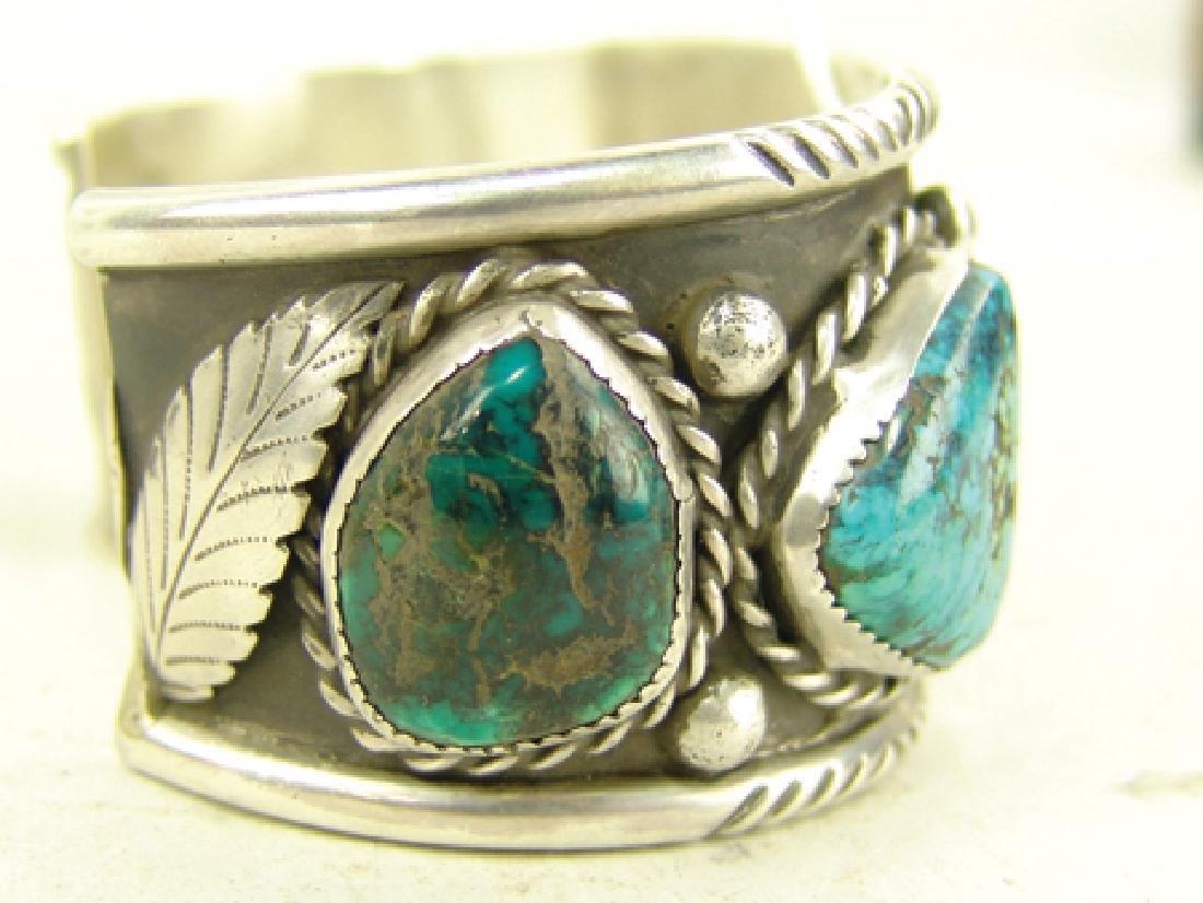 """Navajo Bracelet - """"CR"""" - 5"""