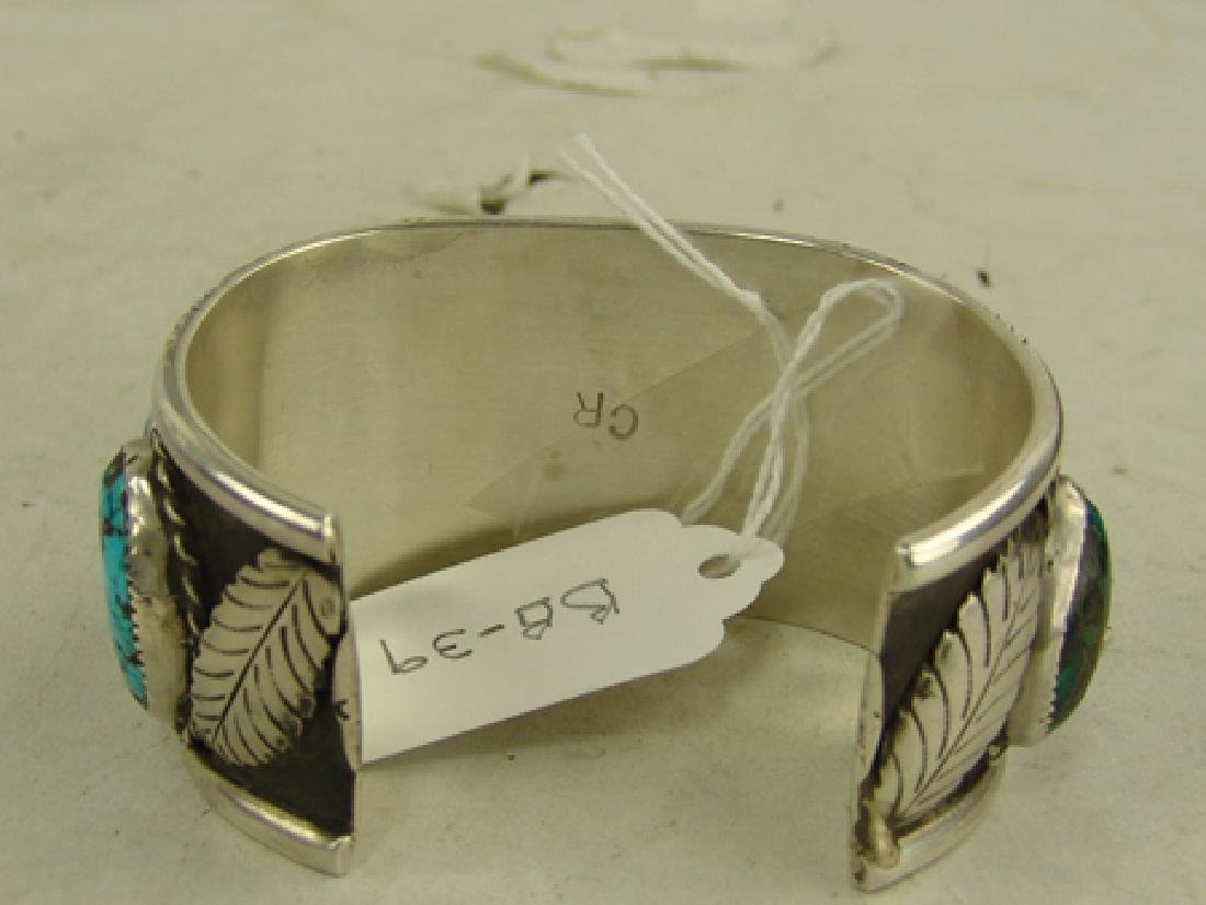 """Navajo Bracelet - """"CR"""" - 6"""