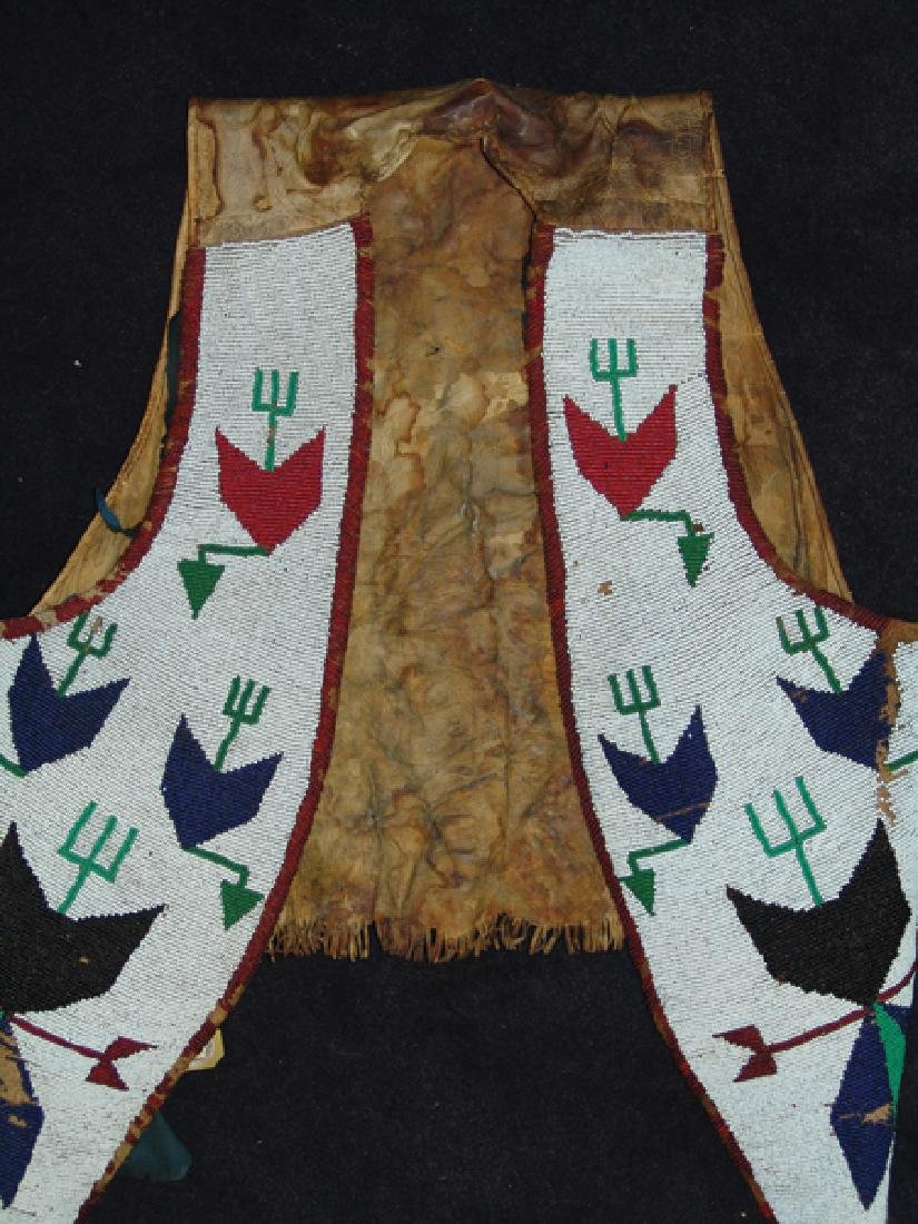 Sioux Beaded Vest - 3