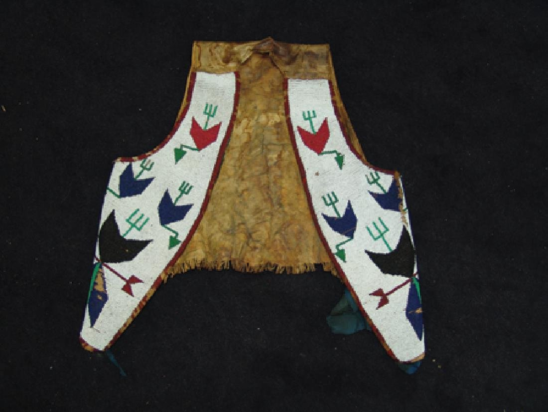 Sioux Beaded Vest - 6