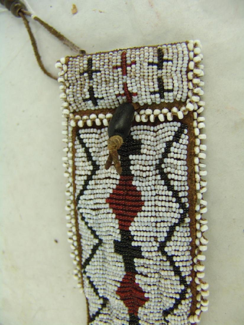 Southern Plains Beaded Tail Bag - 5