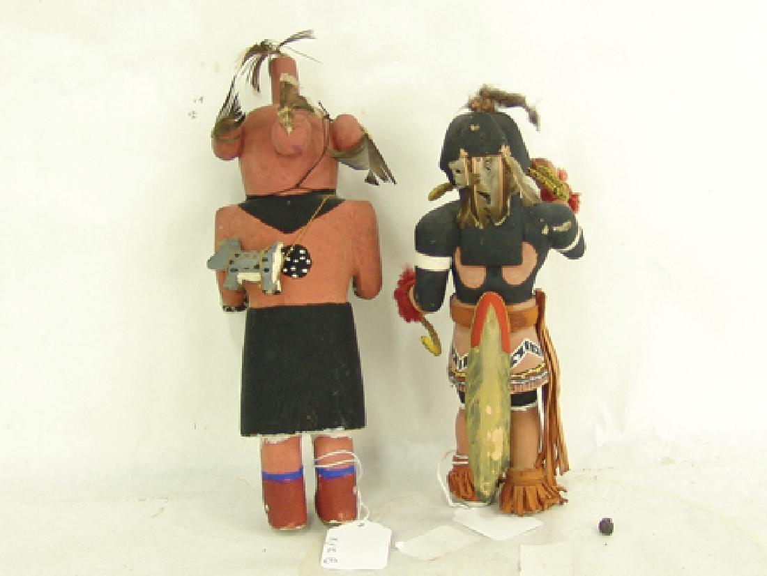 2 Hopi Kachina Dolls - 10