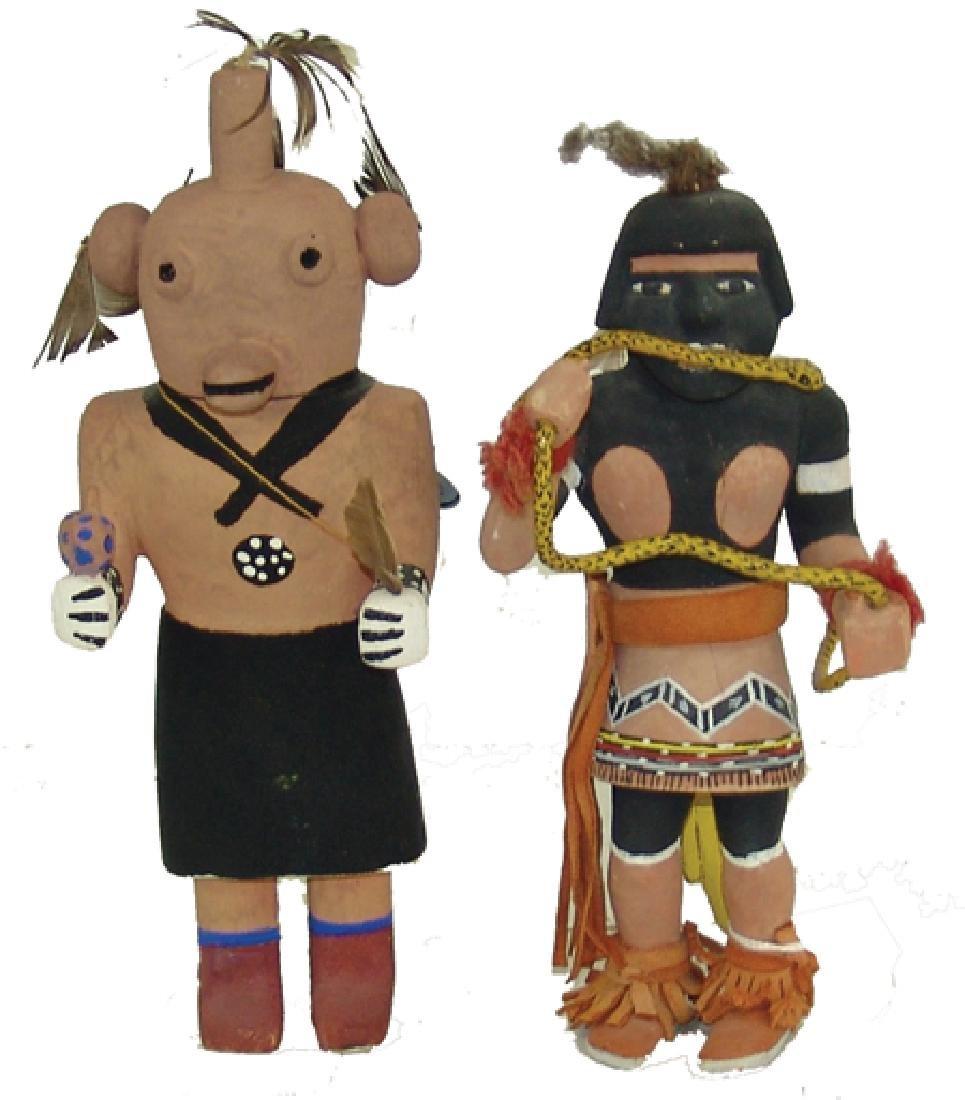 2 Hopi Kachina Dolls