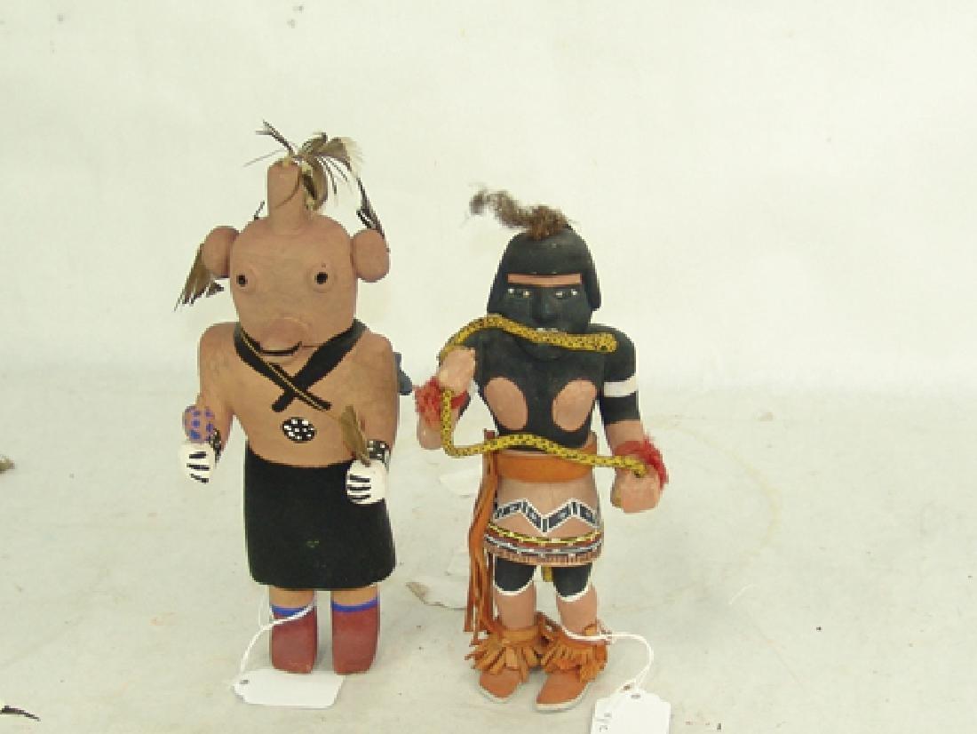 2 Hopi Kachina Dolls - 2