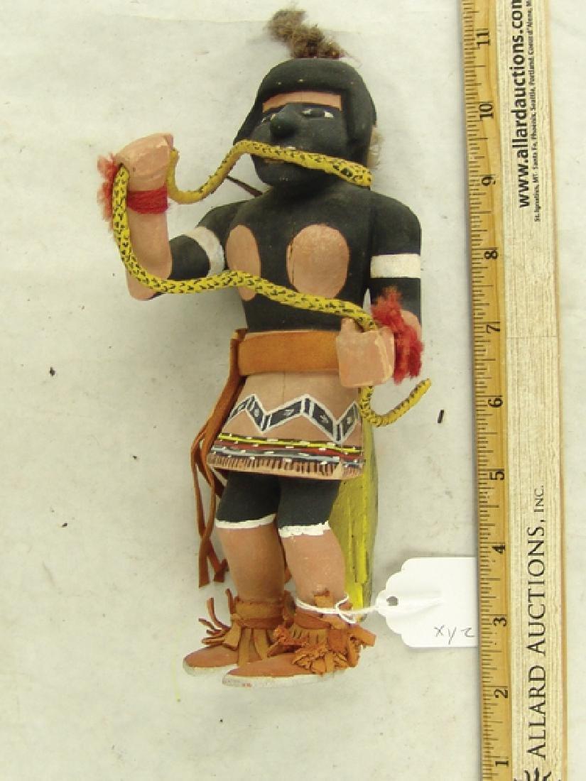 2 Hopi Kachina Dolls - 3