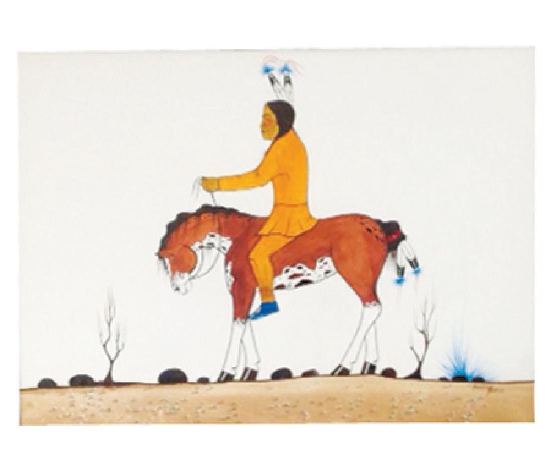 (Ray Darby) Hunting Horse, Kiowa (1938-2016)