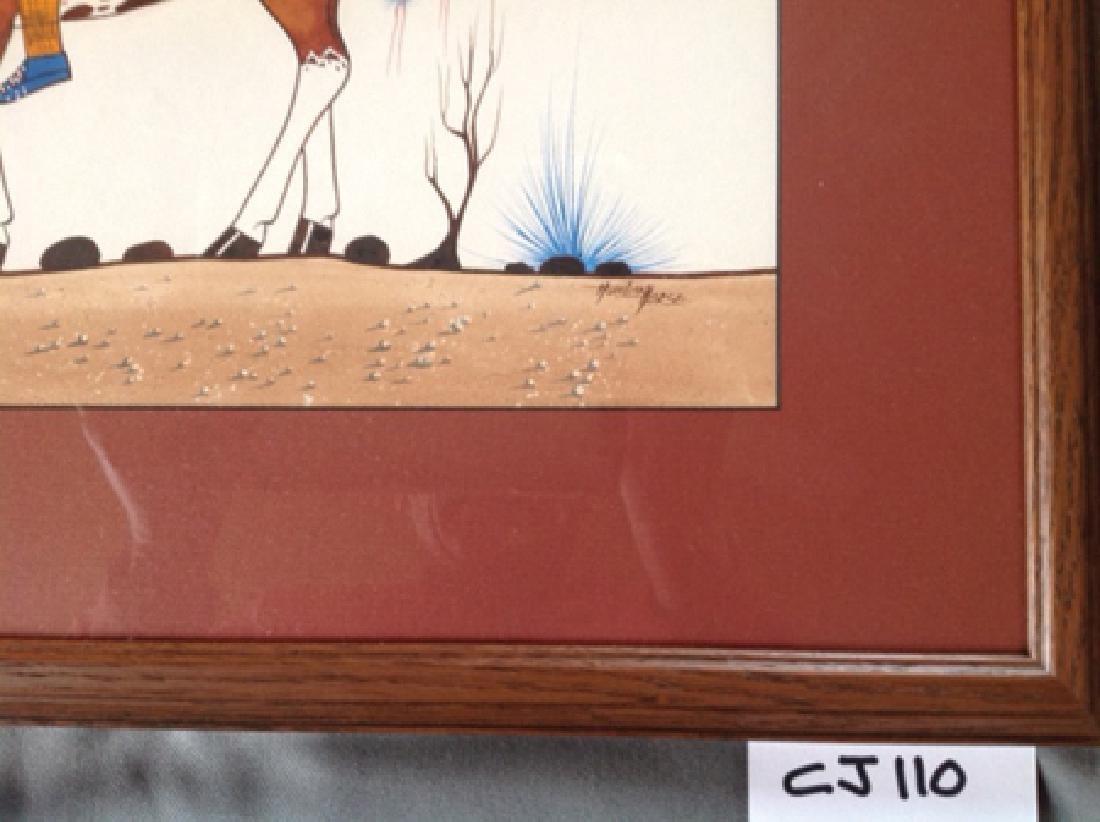 (Ray Darby) Hunting Horse, Kiowa (1938-2016) - 2