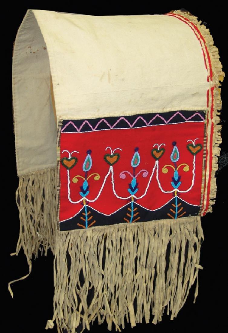 Blackfeet Double Saddle Bags
