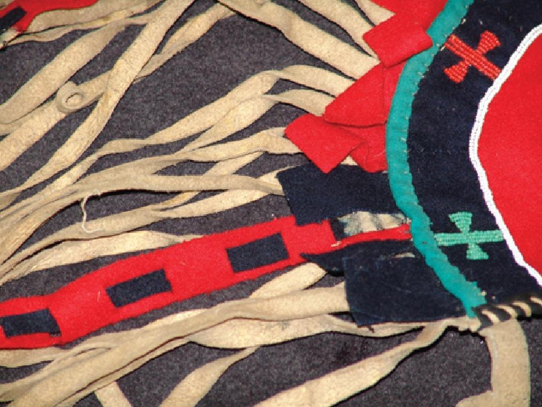 Blackfeet Beaded Horse's Crupper - 6